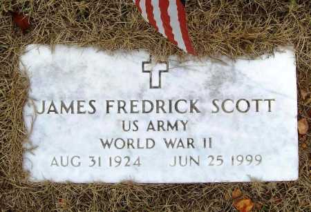 SCOTT (VETERAN WWII), JAMES FREDRICK - Benton County, Arkansas | JAMES FREDRICK SCOTT (VETERAN WWII) - Arkansas Gravestone Photos
