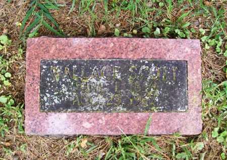 SCOTT, WALLACE - Benton County, Arkansas | WALLACE SCOTT - Arkansas Gravestone Photos