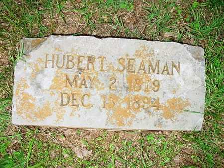 SEAMAN, HUBERT - Benton County, Arkansas | HUBERT SEAMAN - Arkansas Gravestone Photos
