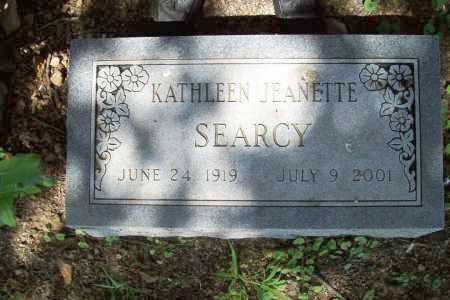 SEARCY, KATHLEEN JEANETTE - Benton County, Arkansas | KATHLEEN JEANETTE SEARCY - Arkansas Gravestone Photos