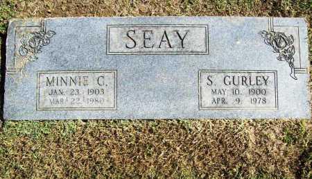 SEAY, S GURLEY - Benton County, Arkansas | S GURLEY SEAY - Arkansas Gravestone Photos