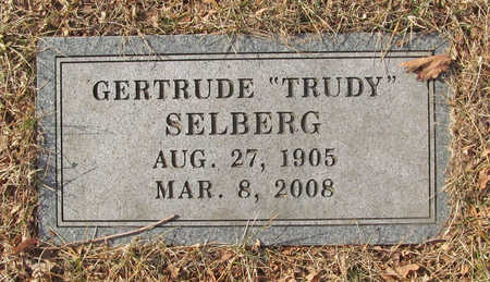 "SELBERG, GERTRUDE MAUREEN ""TRUDY"" - Benton County, Arkansas | GERTRUDE MAUREEN ""TRUDY"" SELBERG - Arkansas Gravestone Photos"
