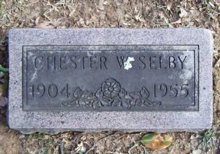 SELBY, CHESTER W. - Benton County, Arkansas | CHESTER W. SELBY - Arkansas Gravestone Photos