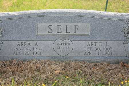 SELF, ARRA A. - Benton County, Arkansas | ARRA A. SELF - Arkansas Gravestone Photos