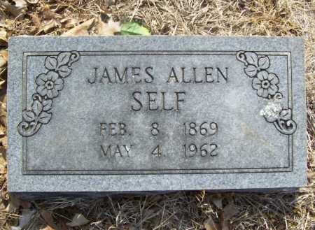SELF, JAMES ALLEN - Benton County, Arkansas | JAMES ALLEN SELF - Arkansas Gravestone Photos