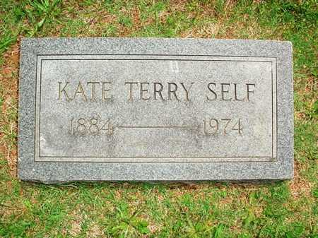 TERRY SELF, KATE - Benton County, Arkansas | KATE TERRY SELF - Arkansas Gravestone Photos