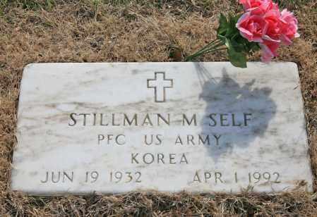 SELF (VETERAN KOR), STILLMAN M - Benton County, Arkansas | STILLMAN M SELF (VETERAN KOR) - Arkansas Gravestone Photos