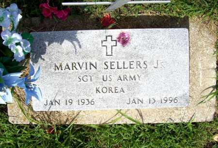 SELLERS, JR (VETERAN KOR), MARVIN - Benton County, Arkansas | MARVIN SELLERS, JR (VETERAN KOR) - Arkansas Gravestone Photos