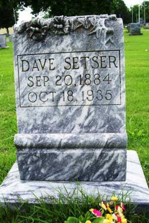 SETSER, DAVE - Benton County, Arkansas | DAVE SETSER - Arkansas Gravestone Photos