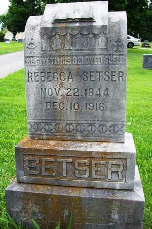 SETSER, REBECCA - Benton County, Arkansas | REBECCA SETSER - Arkansas Gravestone Photos
