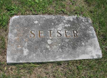SETSER, STONE - Benton County, Arkansas | STONE SETSER - Arkansas Gravestone Photos