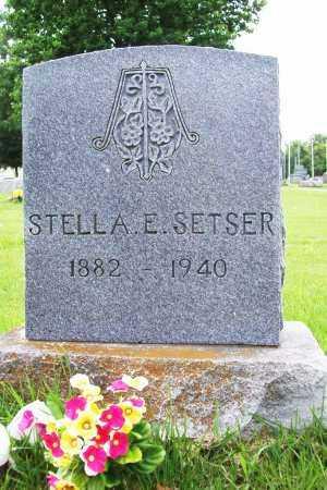 SETSER, STELLA E. - Benton County, Arkansas | STELLA E. SETSER - Arkansas Gravestone Photos