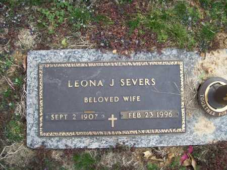 SEVERS, LEONA J. - Benton County, Arkansas | LEONA J. SEVERS - Arkansas Gravestone Photos