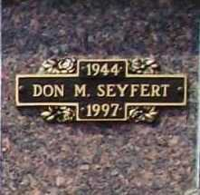 SEYFERT, DON M. - Benton County, Arkansas | DON M. SEYFERT - Arkansas Gravestone Photos