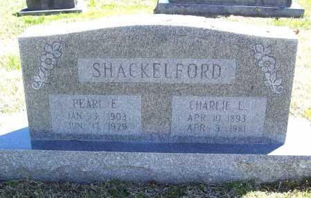 SHACKELFORD, CHARLIE L. - Benton County, Arkansas | CHARLIE L. SHACKELFORD - Arkansas Gravestone Photos