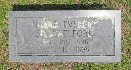 SHACKELFORD, NOBLE EVERETT - Benton County, Arkansas | NOBLE EVERETT SHACKELFORD - Arkansas Gravestone Photos