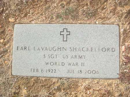 SHACKELFORD (VETERAN WWII), EARL LAVAUGHN - Benton County, Arkansas | EARL LAVAUGHN SHACKELFORD (VETERAN WWII) - Arkansas Gravestone Photos