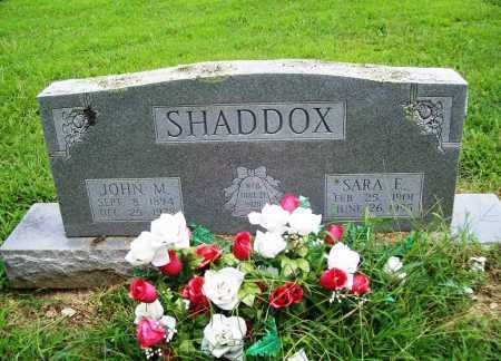 SHADDOX, SARA E. - Benton County, Arkansas | SARA E. SHADDOX - Arkansas Gravestone Photos