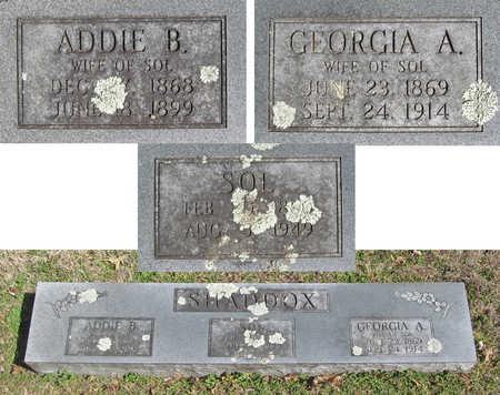 SHADDOX, ADDIE B. - Benton County, Arkansas | ADDIE B. SHADDOX - Arkansas Gravestone Photos