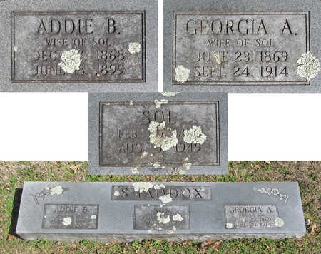 SHADDOX, ADDIE B. - Benton County, Arkansas | ADDIE B. SHADDOX - Arkansas Gravestone Photos