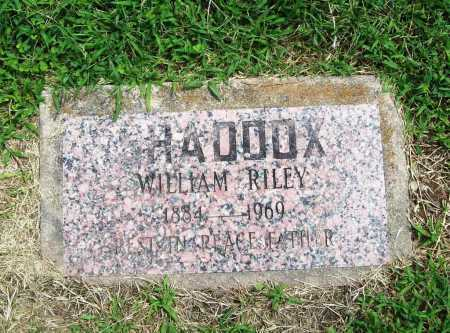 SHADDOX, WILLIAM RILEY - Benton County, Arkansas | WILLIAM RILEY SHADDOX - Arkansas Gravestone Photos