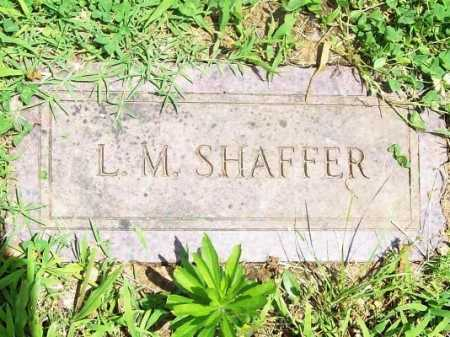 SHAFFER, L. M. - Benton County, Arkansas | L. M. SHAFFER - Arkansas Gravestone Photos