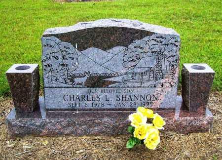 SHANNON, CHARLES L. - Benton County, Arkansas | CHARLES L. SHANNON - Arkansas Gravestone Photos