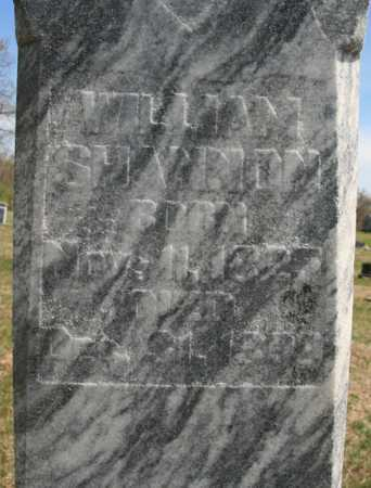 SHANNON, WILLIAM (CLOSEUP) - Benton County, Arkansas | WILLIAM (CLOSEUP) SHANNON - Arkansas Gravestone Photos