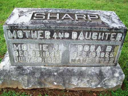 SHARP, MOLLIE J. - Benton County, Arkansas | MOLLIE J. SHARP - Arkansas Gravestone Photos