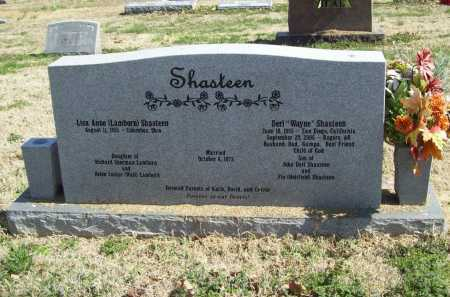 SHASTEEN, DERL WAYNE - Benton County, Arkansas | DERL WAYNE SHASTEEN - Arkansas Gravestone Photos
