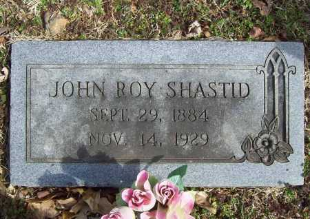 SHASTID, JOHN ROY - Benton County, Arkansas | JOHN ROY SHASTID - Arkansas Gravestone Photos