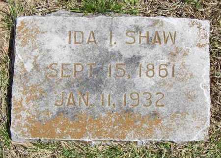 SHAW, IDA I. - Benton County, Arkansas | IDA I. SHAW - Arkansas Gravestone Photos