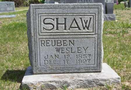 SHAW, REUBEN WESLEY - Benton County, Arkansas | REUBEN WESLEY SHAW - Arkansas Gravestone Photos