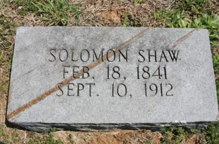 SHAW, SOLOMON - Benton County, Arkansas | SOLOMON SHAW - Arkansas Gravestone Photos