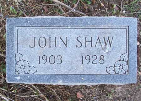 SHAW (VETERAN WWI WIA), JOHN L. - Benton County, Arkansas | JOHN L. SHAW (VETERAN WWI WIA) - Arkansas Gravestone Photos