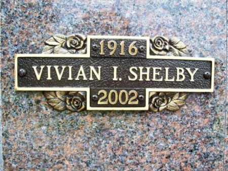 SHELBY, VIVIAN IRENE - Benton County, Arkansas | VIVIAN IRENE SHELBY - Arkansas Gravestone Photos