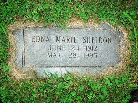 SHELDON, EDNA MARIE - Benton County, Arkansas | EDNA MARIE SHELDON - Arkansas Gravestone Photos