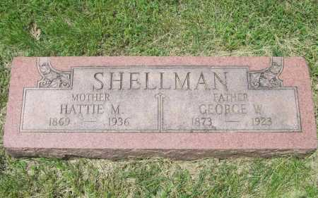 SHELLMAN, GEORGE W. - Benton County, Arkansas | GEORGE W. SHELLMAN - Arkansas Gravestone Photos
