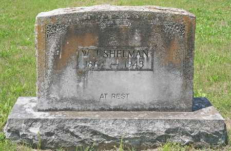 SHELMAN, W J - Benton County, Arkansas | W J SHELMAN - Arkansas Gravestone Photos