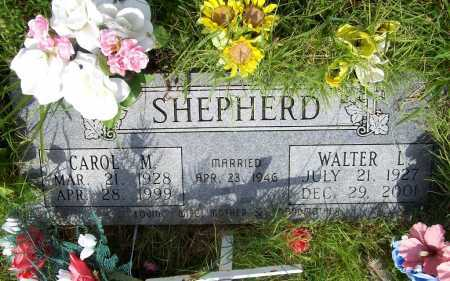 SHEPHERD, WALTER L. - Benton County, Arkansas | WALTER L. SHEPHERD - Arkansas Gravestone Photos