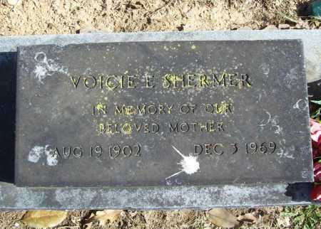 SHERMER, VOICIE E. - Benton County, Arkansas | VOICIE E. SHERMER - Arkansas Gravestone Photos
