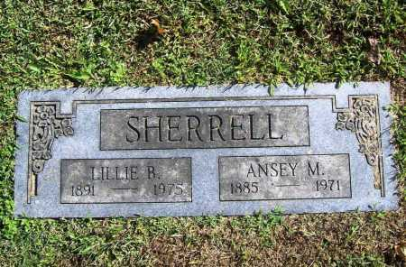 SHERRELL, LILLIE B. - Benton County, Arkansas | LILLIE B. SHERRELL - Arkansas Gravestone Photos
