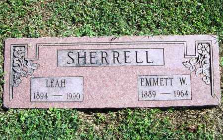 SHERRELL, LEAH - Benton County, Arkansas | LEAH SHERRELL - Arkansas Gravestone Photos
