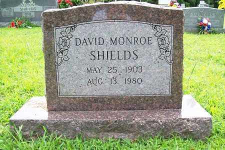 SHIELDS, DAVID MONROE - Benton County, Arkansas | DAVID MONROE SHIELDS - Arkansas Gravestone Photos