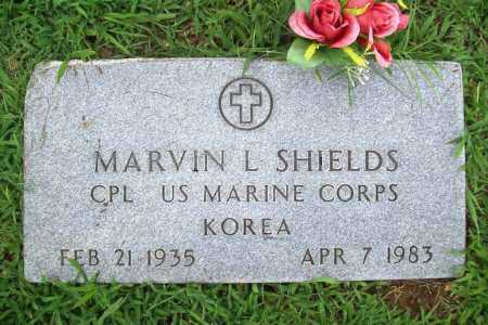 SHIELDS (VETERAN KOR), MARVIN L - Benton County, Arkansas | MARVIN L SHIELDS (VETERAN KOR) - Arkansas Gravestone Photos