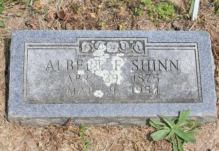 SHINN, ALBERT F. - Benton County, Arkansas | ALBERT F. SHINN - Arkansas Gravestone Photos