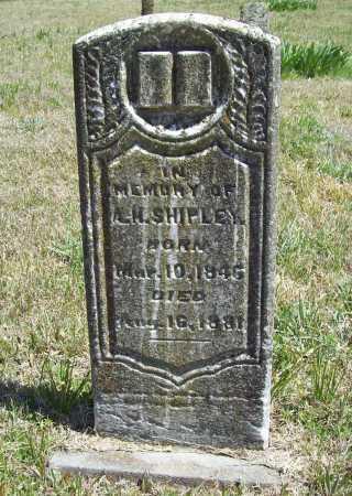 SHIPLEY, A. H. - Benton County, Arkansas | A. H. SHIPLEY - Arkansas Gravestone Photos