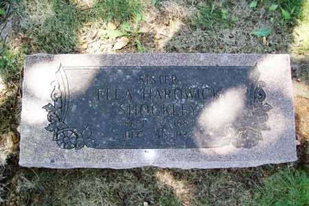 SHOCKLEY, ELLA - Benton County, Arkansas | ELLA SHOCKLEY - Arkansas Gravestone Photos