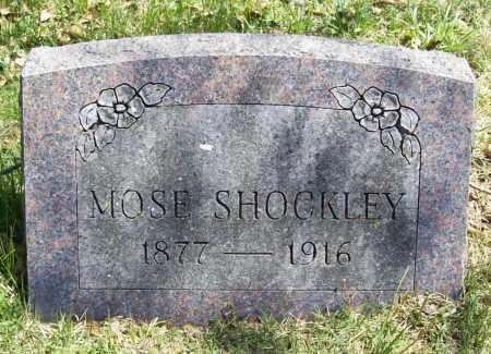 SHOCKLEY, MOSE - Benton County, Arkansas | MOSE SHOCKLEY - Arkansas Gravestone Photos