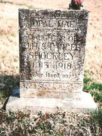 SHOCKLEY, OPAL MAE - Benton County, Arkansas | OPAL MAE SHOCKLEY - Arkansas Gravestone Photos